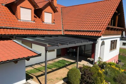 Mehler Metallbau Wintergartenbau, Terrassenüberdachung, Alu, Aluminium, eigene Herstellung, Meisterfachbetrieb, langlebig, modern,